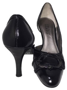 Franco Sarto Cushioned Black Pumps