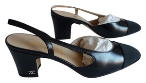 Chanel Sold Out 2016 Slingback Black Pumps