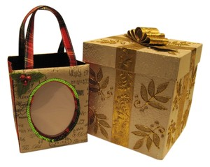 Oher Embellished Occasion Gift Box & Bag - [ Roxanne Anjou Closet ]