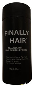 FINALLY HAIR NEW KERATIN HAIR LOSS CONCEALER *FINALLY HAIR* BUILDING FIBERS 'BLONDE' 28g/99oz Made in USA