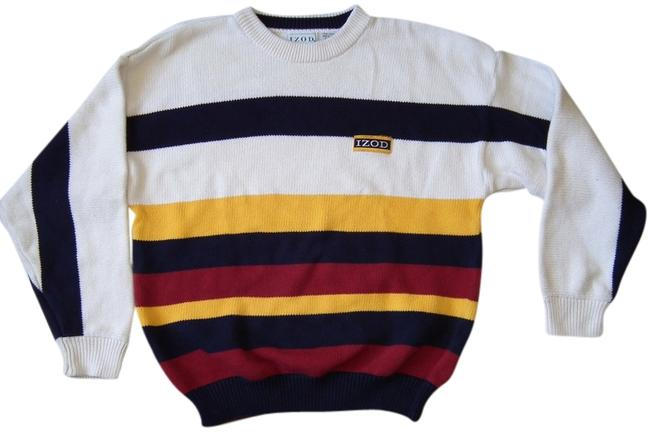 Preload https://item4.tradesy.com/images/izod-multi-color-sweaterpullover-size-8-m-1497693-0-0.jpg?width=400&height=650
