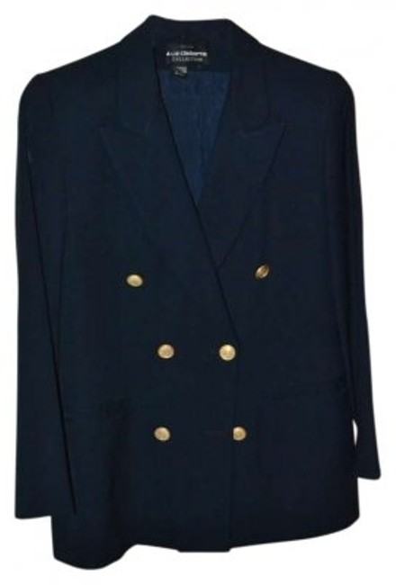 Preload https://item5.tradesy.com/images/liz-claiborne-navy-blue-classic-double-breasted-jacket-with-gold-buttons-skirt-suit-size-petite-6-s-149779-0-0.jpg?width=400&height=650