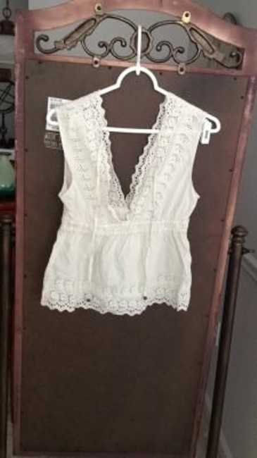 American Eagle Outfitters Top white