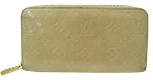 Louis Vuitton Vernis zippy zip around Long Wallet