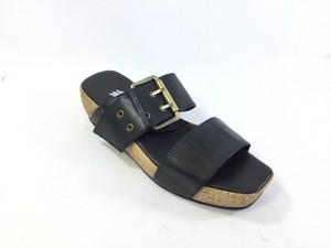 Antelope Cornstalk, Black or Turquoise Leather Sandals