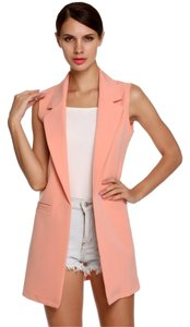 Coat Jacket Duster Black/Pink Blazer