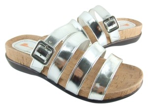 Antelope 75% Off Retail Sizes 36-40 4 Strap Mirror, Brown or White #153 Sandals