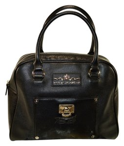 Brighton Broker Mfil Satchel in Black