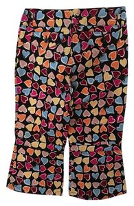 Moschino Capris Black,Pink,Orange,Blue, Yellow
