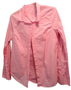 J.Crew Classic Casual Button Down Shirt Pink