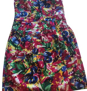 H&M short dress Multi-colred on Tradesy