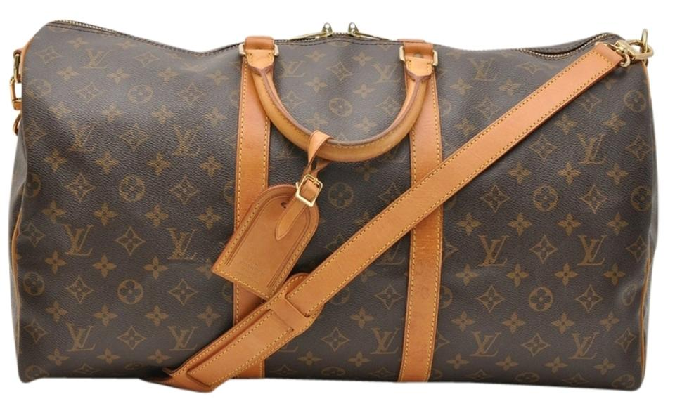 7fda8b6d3d10 Louis Vuitton Neverfull Keepall Speedy Bandouliere Jumbo Size 50 ...