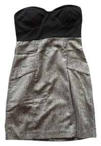 Charlotte Russe short dress Black and grey on Tradesy