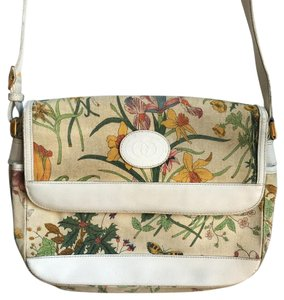 Gucci Vintage Flora Cross Body Bag