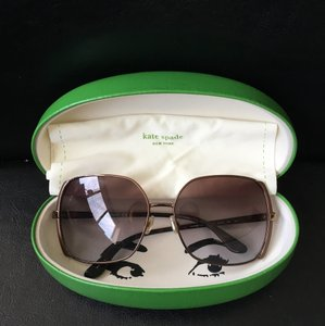 Kate Spade Kate Spade Campbell Sunglasses in Brown Tortoise with Lavender Tinged Lenses