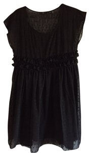 Urban Outfitters short dress Black Eyelet on Tradesy