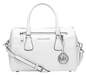 Michael Kors Next Day Shipping Satchel in Optic White