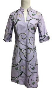 J.McLaughlin short dress Lavender print J. Shift on Tradesy