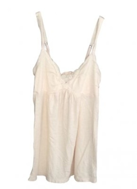 Preload https://item3.tradesy.com/images/american-eagle-outfitters-peach-chest-detail-tank-topcami-size-2-xs-14982-0-0.jpg?width=400&height=650