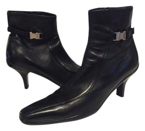 Prada Black Leather Boots