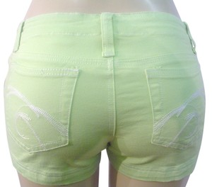 Younique Clothing Mini/Short Shorts Green