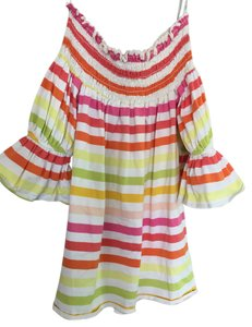 Vava by Joy Han Top Pink, orange, yellow and green