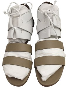 Hermès Luxury C1 BEIGE/BLANC/BRONZE Sandals