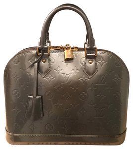 Louis Vuitton Satchel in Silver Gray