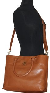 Tory Burch Designer Tote in Luggage