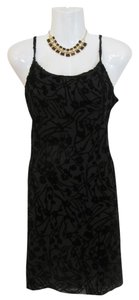 New York & Company Velvet Design Flowers Dress