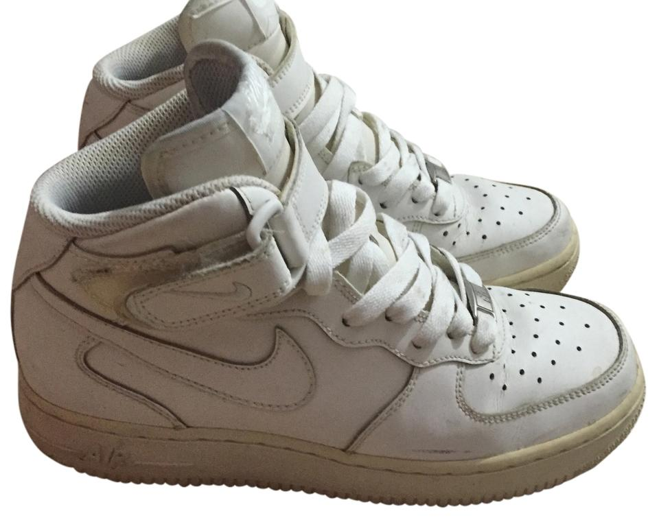 new product 4ea19 90751 Nike White Air Force 1 Mid Casual Youth 5.5 Women Sneakers Size US 7  Regular (M, B)