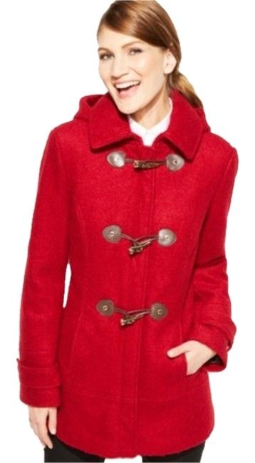 Item - Red The Classic Toggle with Thinsulate(Tm) Lining Coat Size 6 (S)