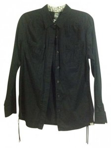 The North Face Button Down Shirt Black