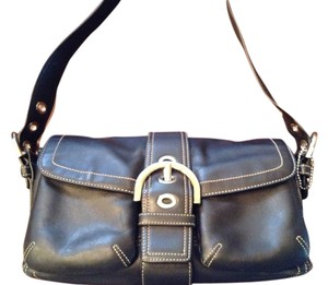 Coach Includes Dust Snap Closure Two Front Pockets Interior Zip Pocket Shoulder Bag
