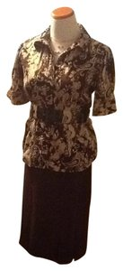 Norton McNaughton Skirt brown