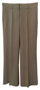 Theory Suit Light Wool Trouser Pants Beige