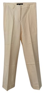 Theory Suit Petite Trouser Pants Cream