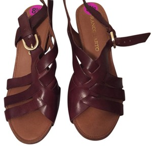 Franco Sarto Leather Wedges