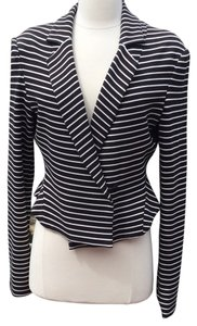 Robert Rodriguez Black and White Blazer
