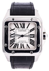Cartier Cartier Stainless Steel Santos 100 Watch