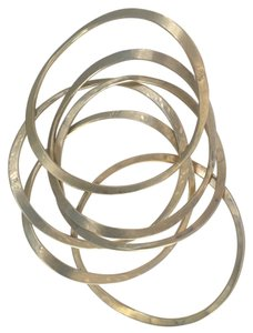 Gold vermeil Modernist,bangle,bracelets