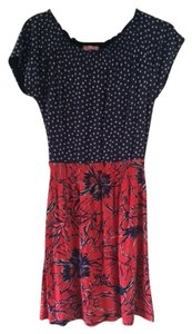 Lilly Pulitzer short dress Navy and Red on Tradesy