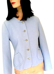 Geiger of Austria Wool Light Blue Jacket