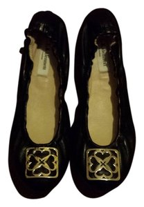l.k. bennet london black Flats
