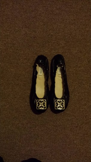 l.k. bennet london black Flats Image 1