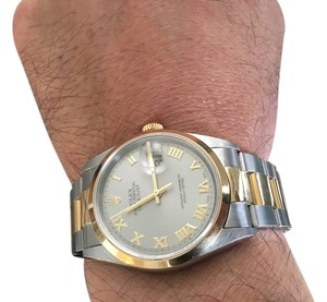 Rolex Authentic Men's Rolex Two Tone Combination (36 mm)