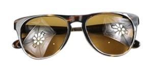 Oliver Peoples Braverman Sunglasses in cocobolo