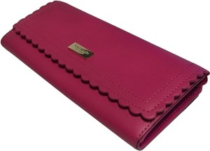 Kate Spade Kate Spade New York Maple Court Cyndy Clutch Wallet WLRU2442 Sweetheart Pink Leather