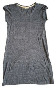 Graham & Spencer short dress Grey/Blue & T-shirt Short Sleeved on Tradesy