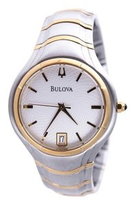 Bulova Bulova Two-Toned Watch A2 Stainless Steel